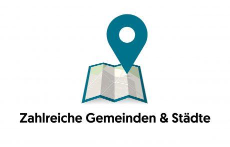 Zahlreiche Gemeinden & Städte - Demox Research. Marktforschung. Meinungsforschung.